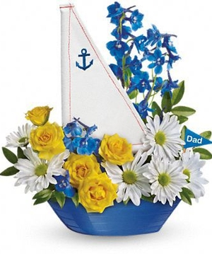 Float Dad's boat...