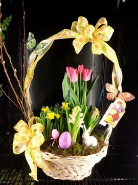 Easter Garden Basket