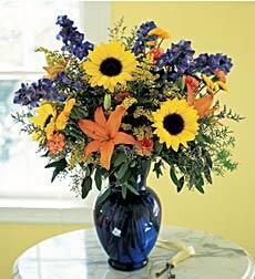 Bold Wildflower Arrangement