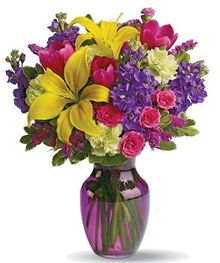 Perk up anyone's day with this lovely bouquet!