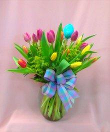 Egg-cellent Tulips