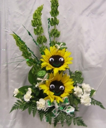 Smile Face Sunflowers